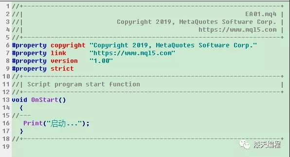【漆天编程】MQL4语言中显示文本信息的五种方式